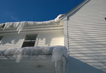 DIY Roof Ice Melters