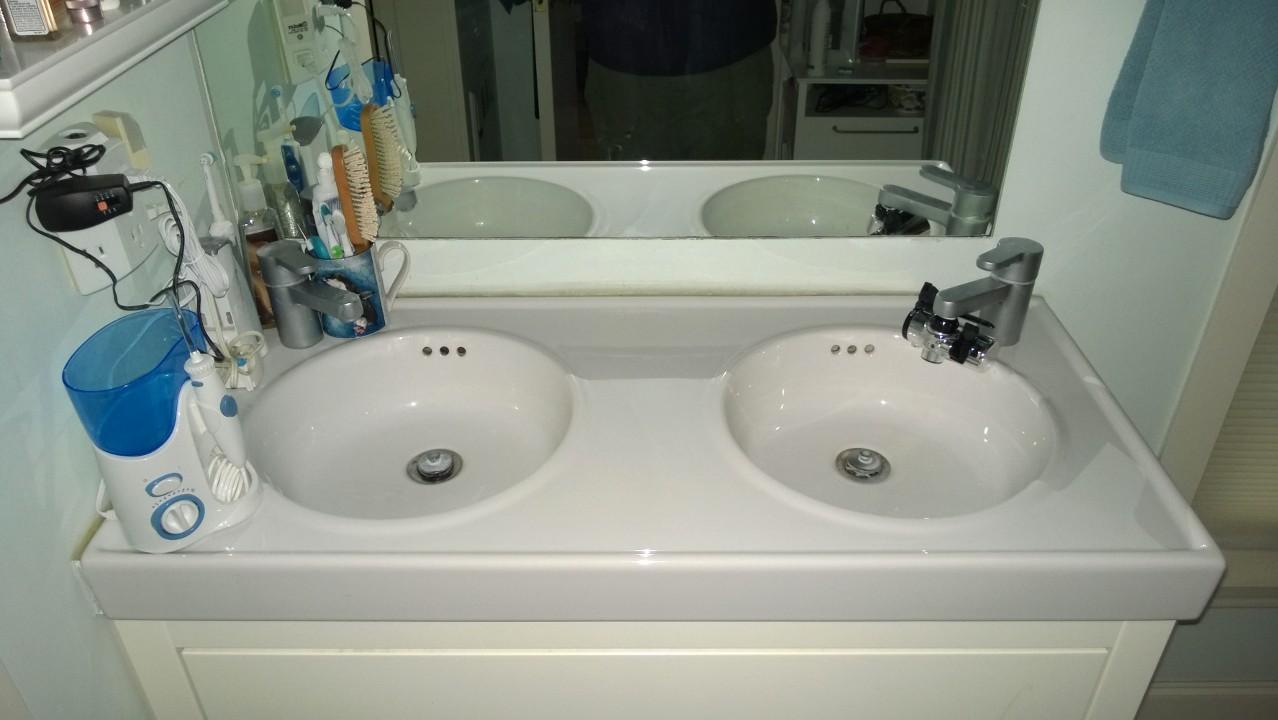 Master Bath Double-Sink Vanity