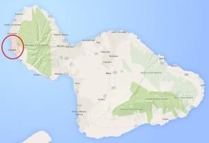 maui hawaii lāhainā map