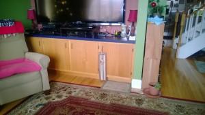 living room cupboard original old wood oak