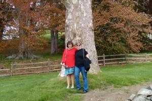 daniela & me at the crane estate, ipswich, ma