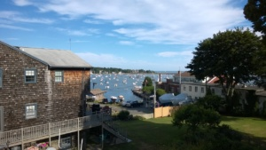view of marblehead harbor from mom and dad's condo