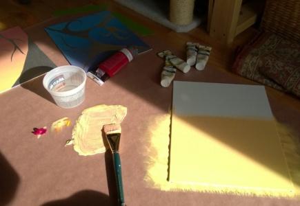 6 Panel Art Project – Part 7