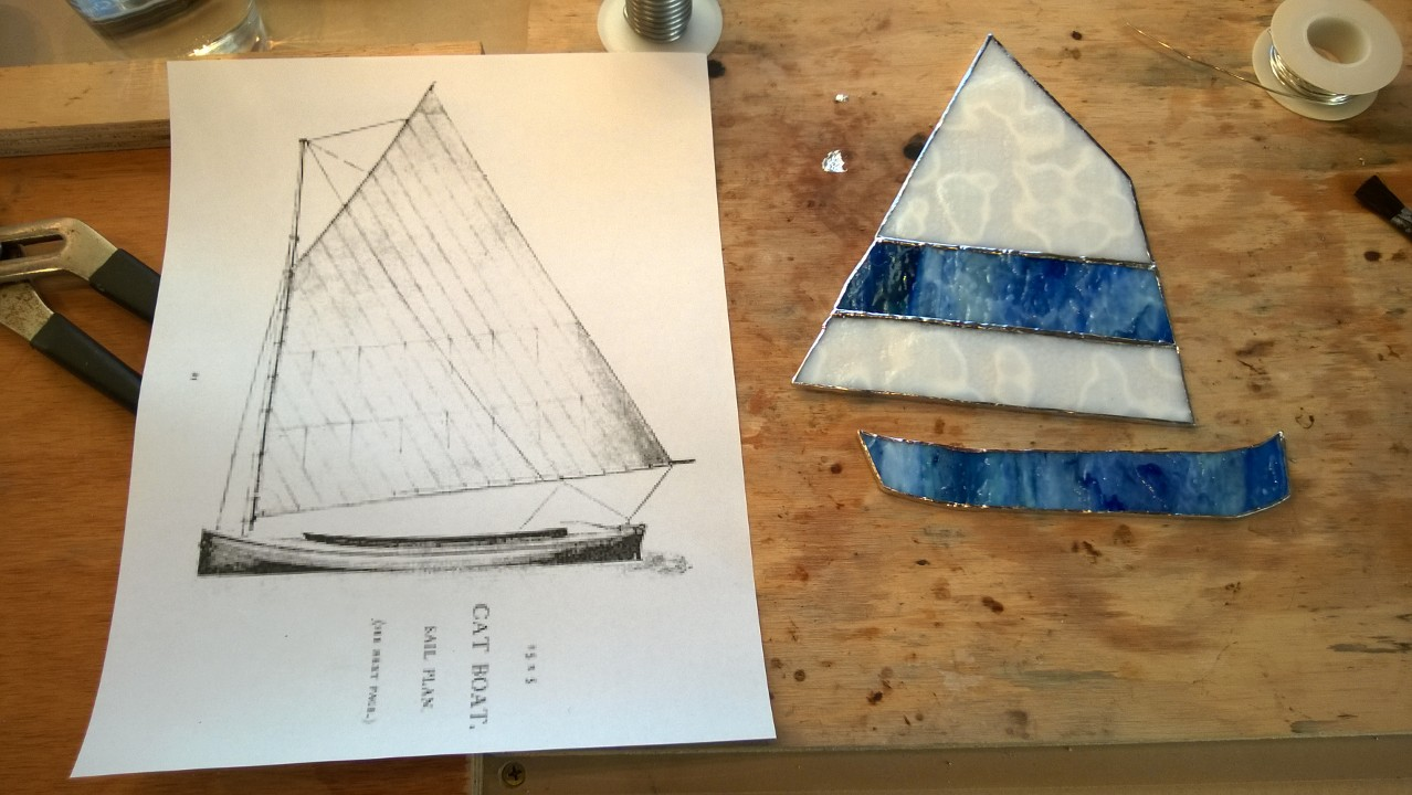 Stained Glass Catboat – Part 1
