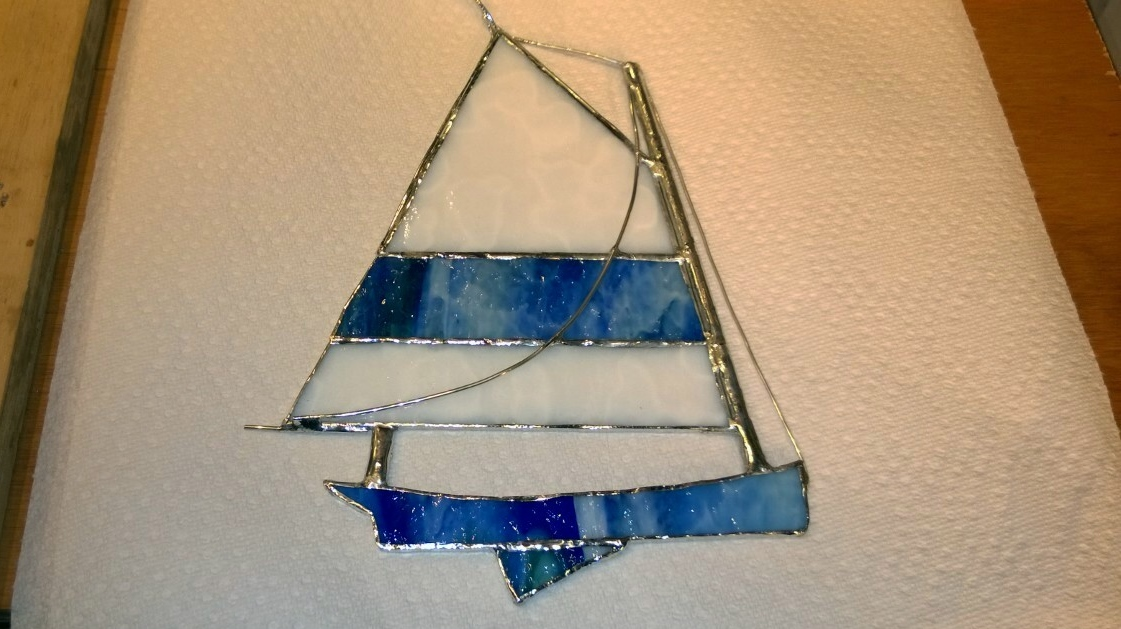 Stained Glass Catboat – Part 2