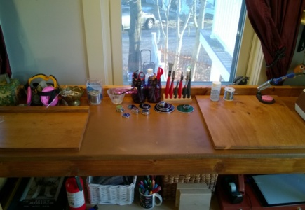I Stained My Workbench – Part 1