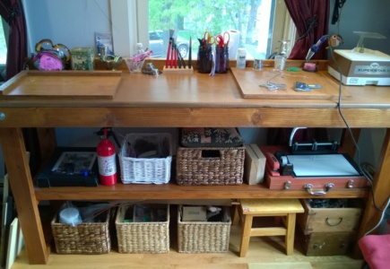 I Stained My Workbench – Part 2