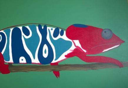Chameleon Mural – Part 3