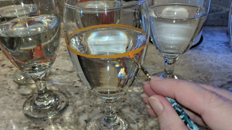 I Painted Our Wine Glasses