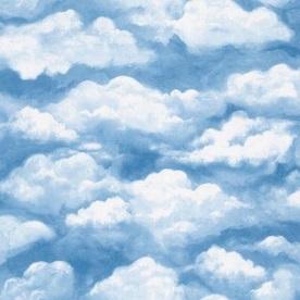 cloud wallpaper – kitchen ceiling