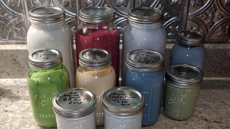 Furlough Project #4 – Paint Jars