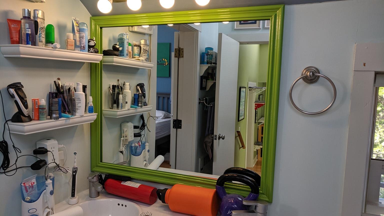Bathroom Mirror Frame – Part 1