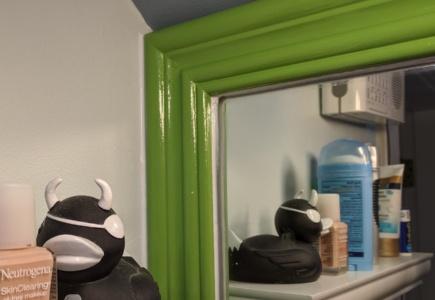 Bathroom Mirror Frame – Part 2