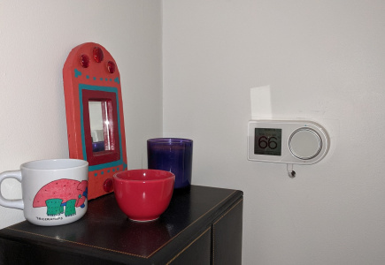 A Smart Thermostat for the Bedroom