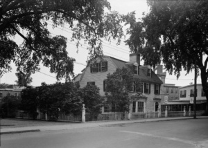 philemon dean house in the 1940s south main street ipswich