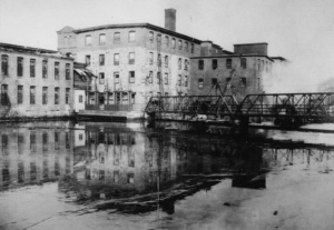 ipswich textile mill demolition in the 1950s