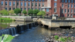 the ipswich river mills dam upper falls