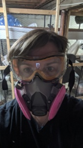 safety wear is essential when using drylok hyraulic cement