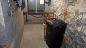 i vacuumed the basement thoroughly prior to the arrival of a new owner