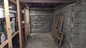 the basement wall before painting on drylok waterproofing sealant