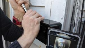 installing the new knox first responder key box