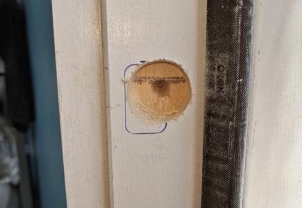Installing a Deadbolt – Part 2
