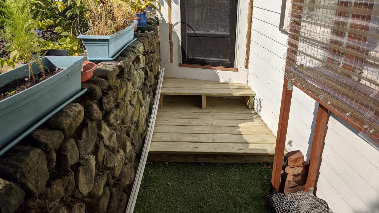 Backyard Steps – Part 2