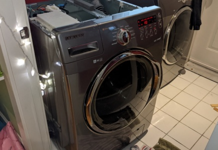 Replacing the Spider Arm on our Samsung Washer – Part 2