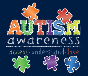 autism awareness colored puzzle pieces