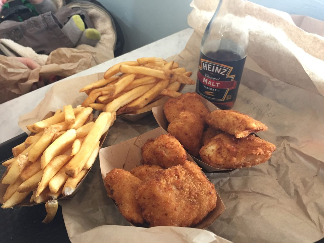 Newmans Cod Fish and Chips in Eugene