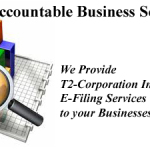 T2 Corporation Income Tax Return E Filing Services from Accountable Business Services ABS Prof in Alberta Edmonton Area Calgary Red Deer and All Across Canada on Tupenny Rate