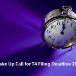 Wake Up Call for T4 Filing Deadline 2016 – Accountable Business Services ABS ABSPROF Alberta Edmonton Calgary Red Deer and Canada