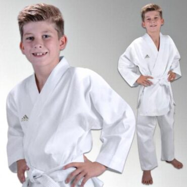 6 OZ. ADIDAS KARATE LIGHTWEIGHT STUDENT UNIFORM