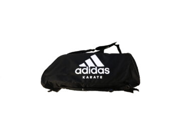 ADIDAS Training Polyester Bag 2 in 1 Karate White logo