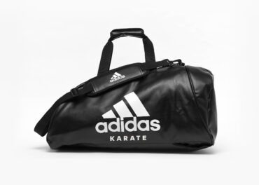 Adidas Training 2 in 1 Bag –  PU Black and White