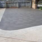 Sponge finish concrete