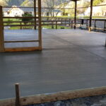 Horse Stable concrete