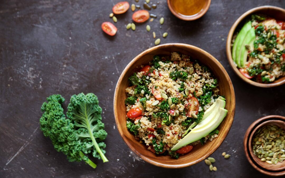 Hearty Kale and Quinoa Bowl