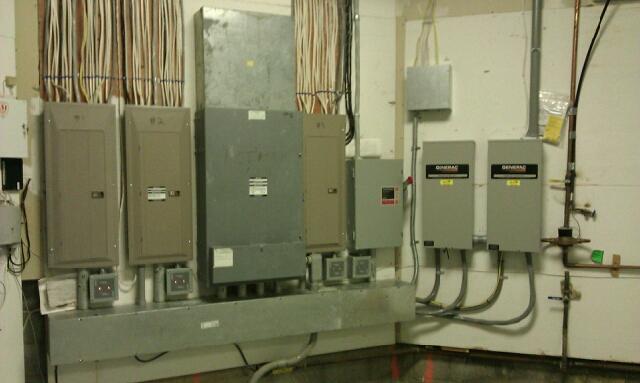 200amp switch install