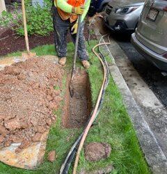 Underground Wiring – Betheda, Maryland