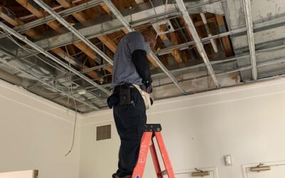 Re-wiring of Christ Episcopal Church in Columbia Maryland