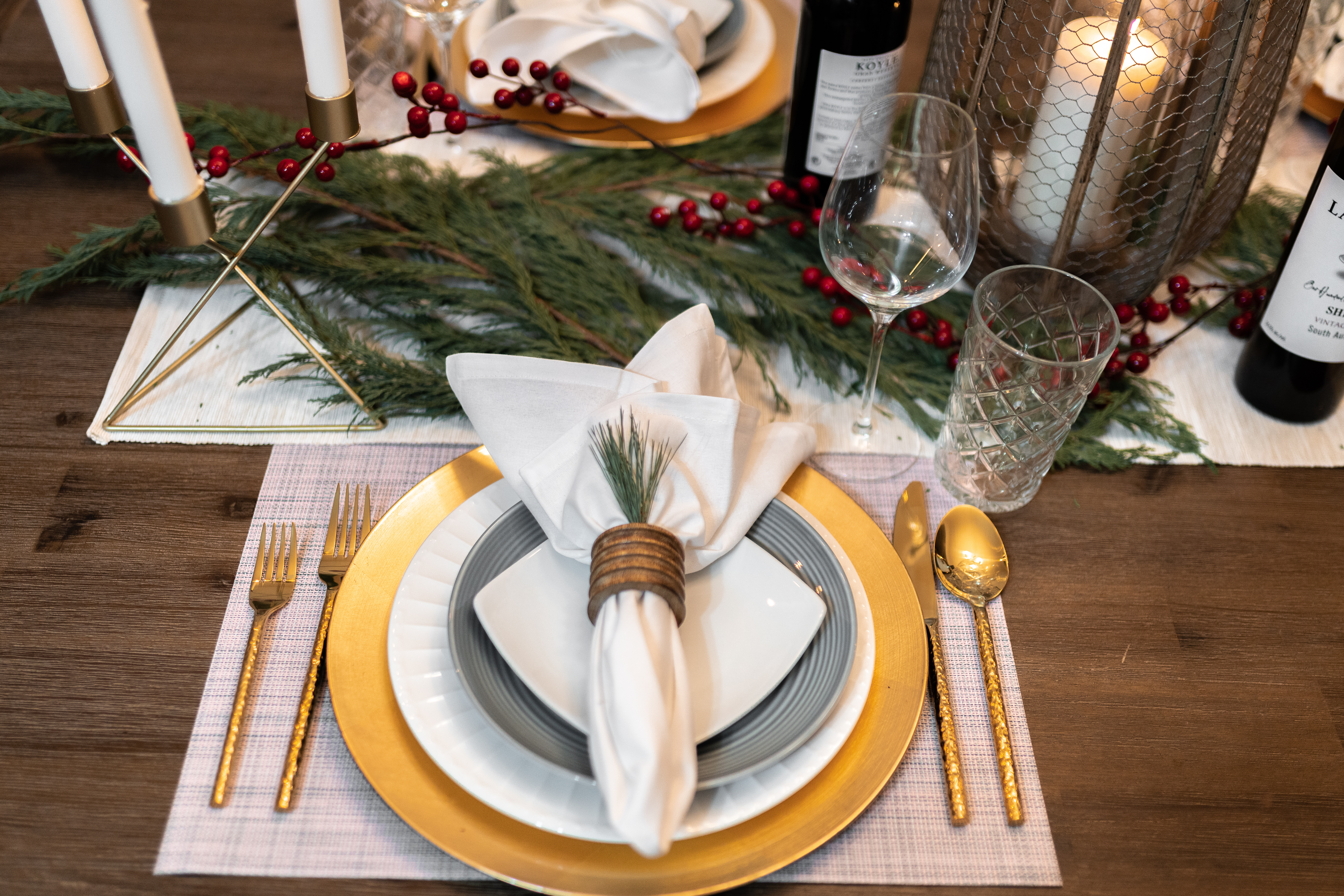 JENERAL HOLIDAY TIPS: DINING TABLE SETTING   THE JENERALIST