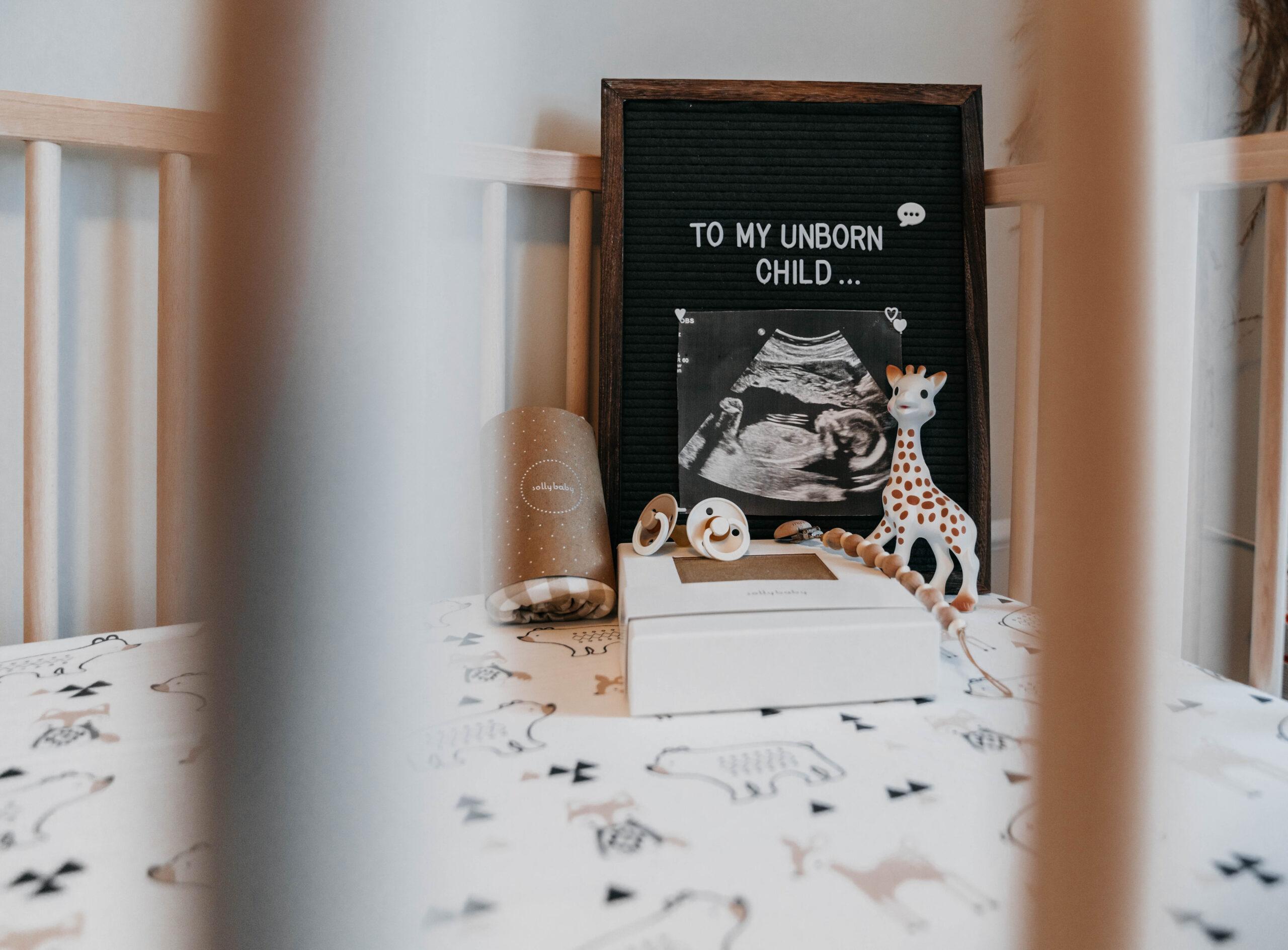 Sonogram on Feltboard | The Jeneralist