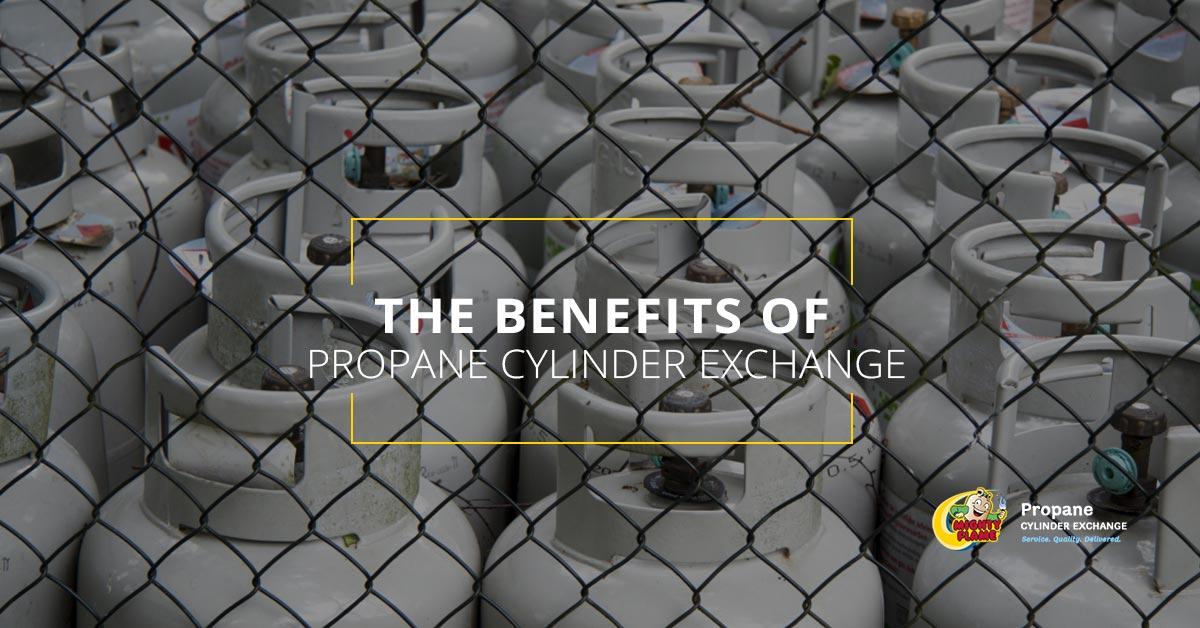 The Benefits of Propane Cylinder Exchange