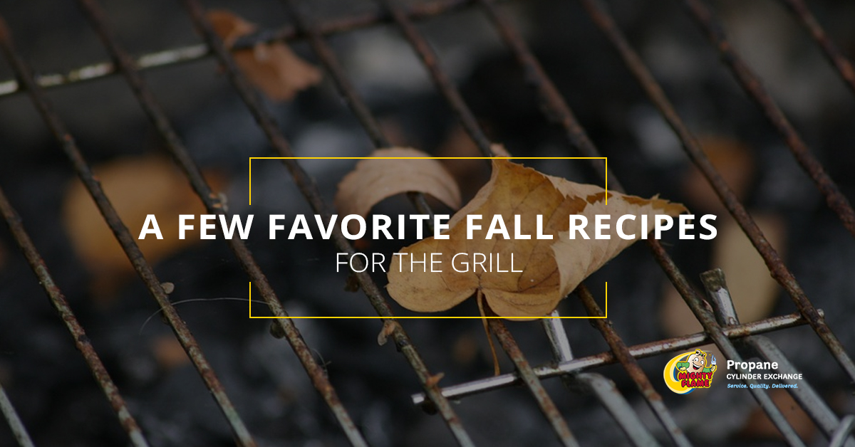 A Few Favorite Fall Recipes for the Grill
