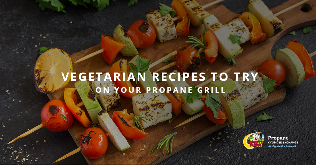 Vegetarian Recipes To Try On Your Propane Grill
