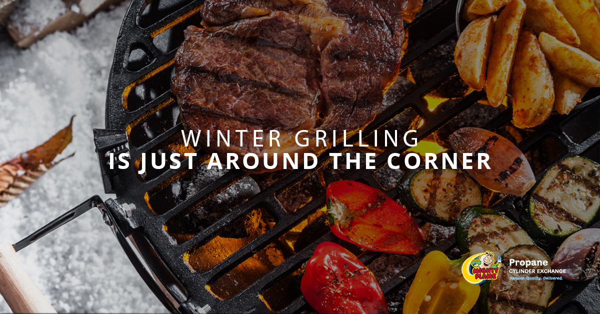 Winter Grilling is Just Around the Corner