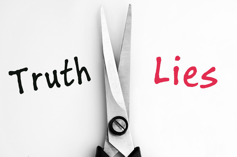 believing lies or truth