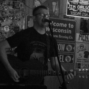 Singer Songwriter Jim Carlson Live at the Elbow Room, Stevens Point, WI