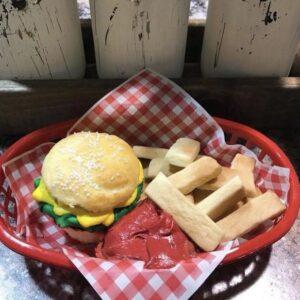 Burger and Fries Set